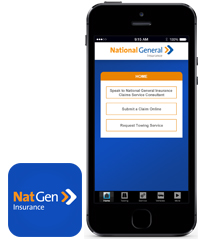 Claims iPhone App from National General Insurance